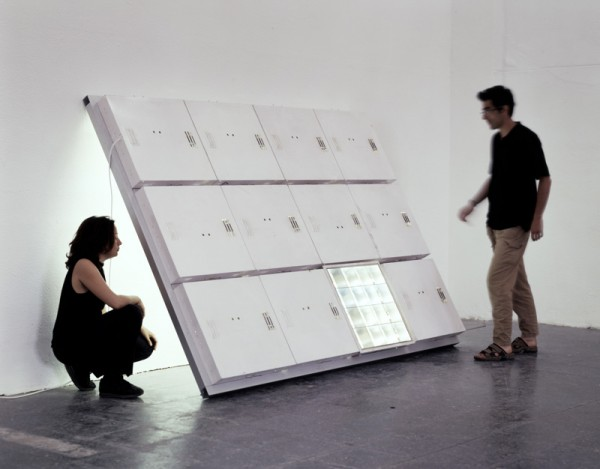 Leaning False Ceiling